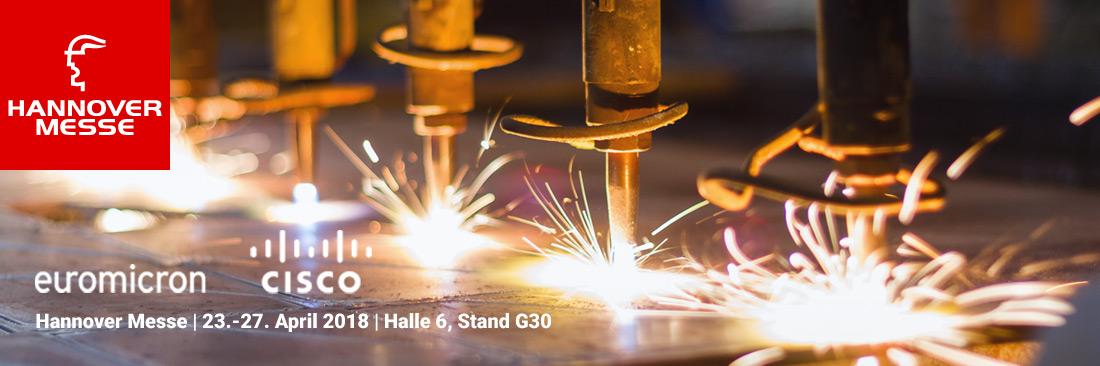 Besuchen Sie uns auf der Weltleitmesse für Industrie 4.0