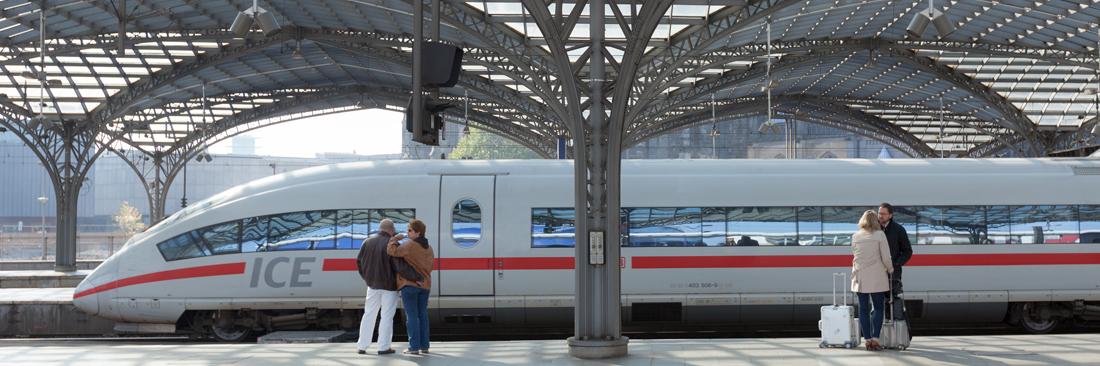 Unterstützung für das Sicherheitskonzept der Bahn