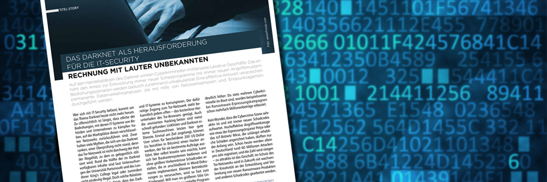 Darknet: Neuen Bedrohungsszenarien effektiv begegnen