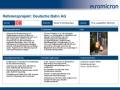 Fahrgastinformationsanlagen für die Deutsche Bahn